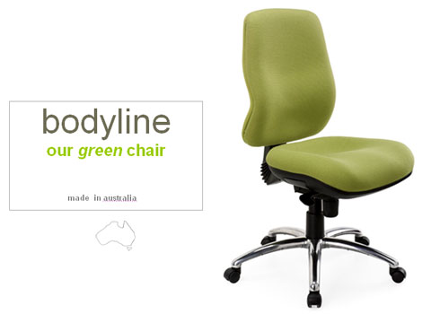 Bodyline green chair from Marwood mercial Furniture is