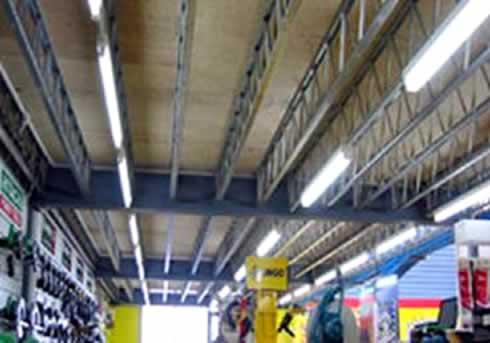 Hopleys Open Web Steel Joists® offer unique possibilities in both