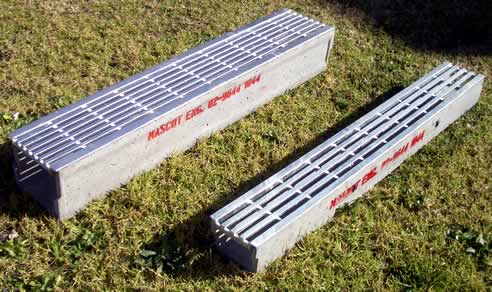 Residential trench drains garage floor drains catch basins for Residential trench drain