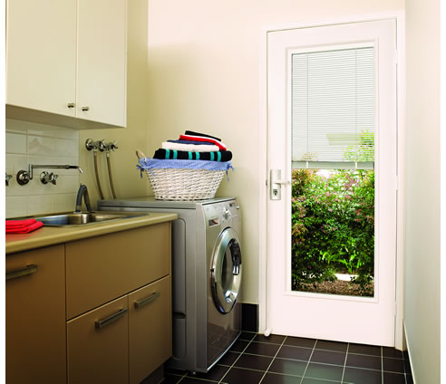 & Interblind Venetian Blind Door from Corinthian Industries