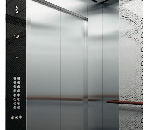 KONE MonoSpace Machineroom less Lift 3000L