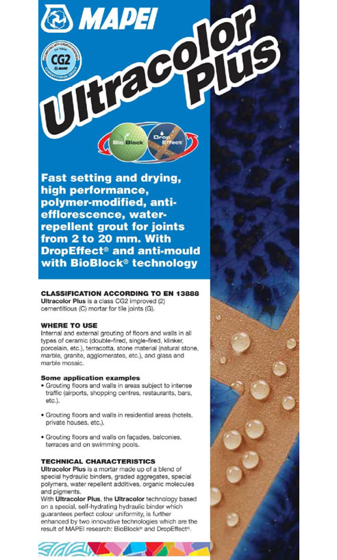 Ultracolor Plus Grout Range From Mapei Australia