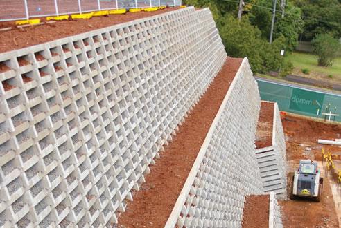 Crib Wall Retaining Systems Concrib Richlands Qld 4077
