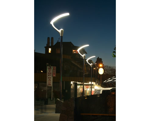 Indirect street lighting from kendelier lighting