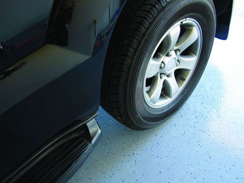 Diy Epoxy Coat Garage Floor Dy Mark Australia Milton Qld 4064