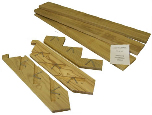 Charmant Illustration Shows A 3 Step Stair Kit 1800 Mm Wide In CCA Treated Pine