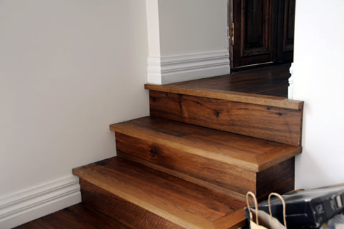 American Oak Stair Nosings Wild River Timber Company