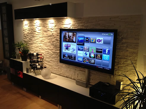 Craftstone Feature Walls for Entertainment Areas from Austech