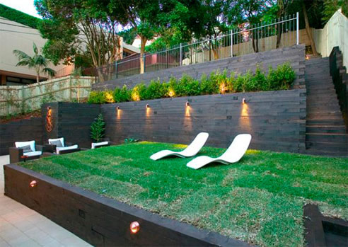 Three Terrace Outdoor Living Space From Iconic Landscaping