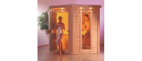 Indoor outdoor saunas from finnleo saunas for Do it yourself outdoor sauna
