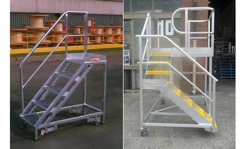 Mobile Platform Stairs Little Jumbo Ladders