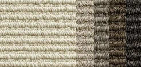 Straight Sisal Loop Alpaca Carpet Velieris