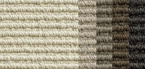 Straight Sisal Loop Alpaca Carpet Velieris