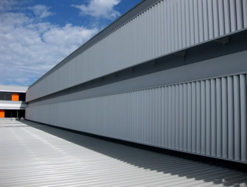 Powder Coated Louvres Building Fa 231 Ade Jwi Louvres