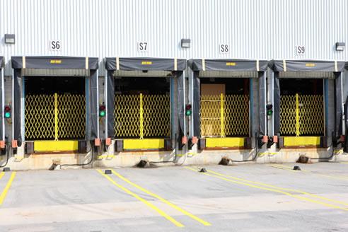 Trackless Shipping Dock Gates The Australian Trellis Door Co