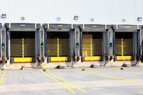 Trackless Shipping Dock Gates The Australian Trellis Door Co