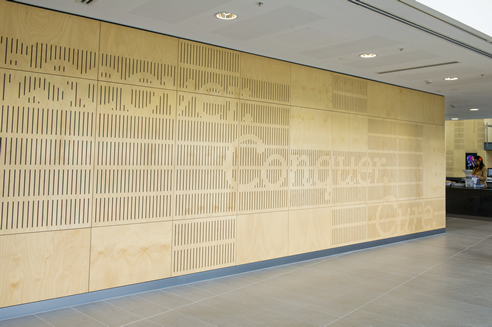 Customised Acoustic Wall Panels