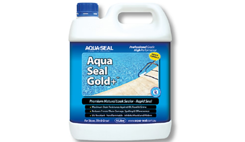 Aqua-Seal Gold+ natural look sealer