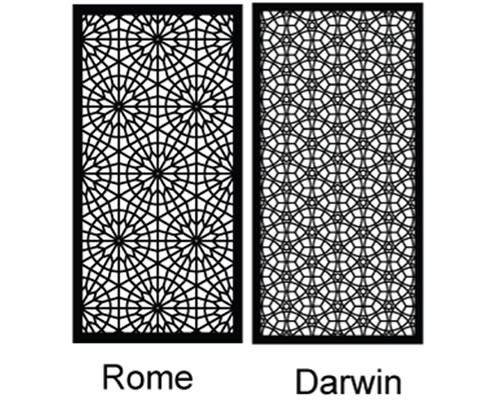 decorative screen designs