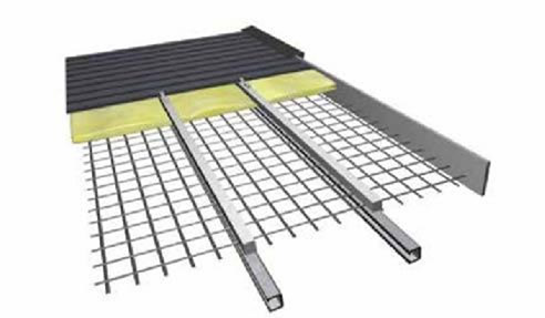 PurlinK roof spacers metal deck roofing