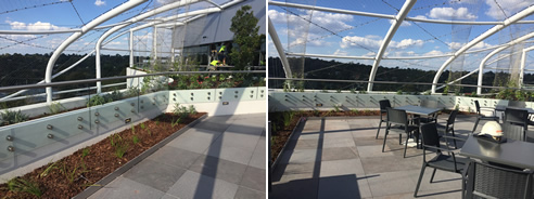 versipave pedestals support balcony paving