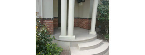 Polyaspartic Coating for Porch and Steps