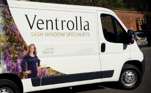 Timber sash windows from Ventrolla