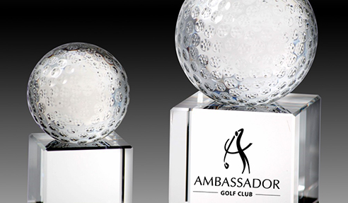 Ambassador Golf Club Customised Trophy