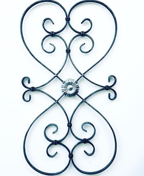 Classic and Unique Wrought Iron Components for balcony and gate
