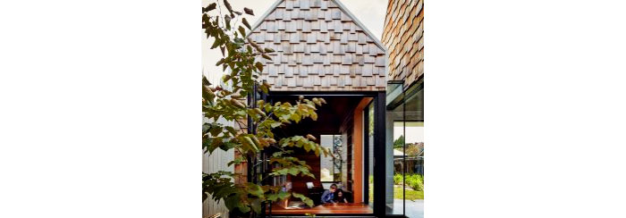 Cedar Roof and Wall Shingles from Hazelwood & Hill