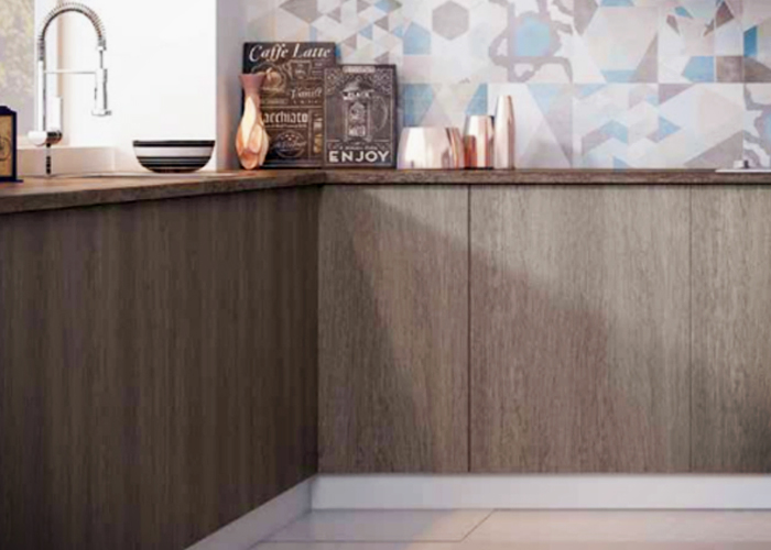 Decorative Textured Interior Panels with a Matt Finish by Nover