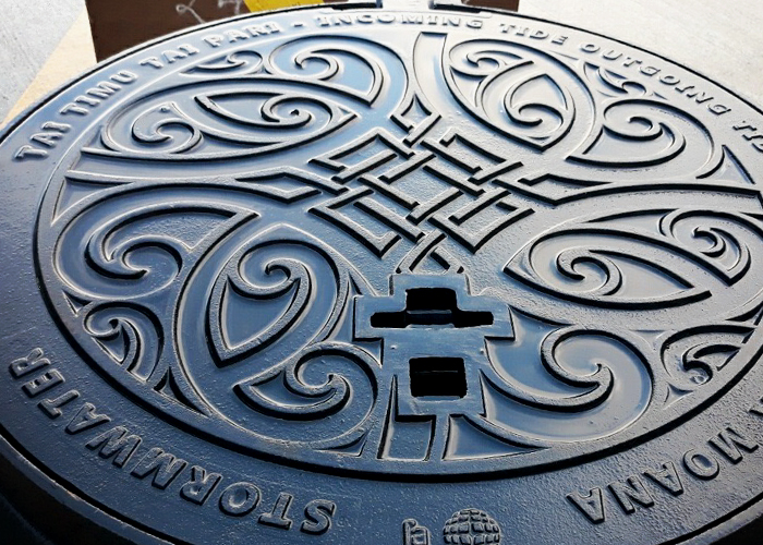 Manhole Covers as Street Art by EJ